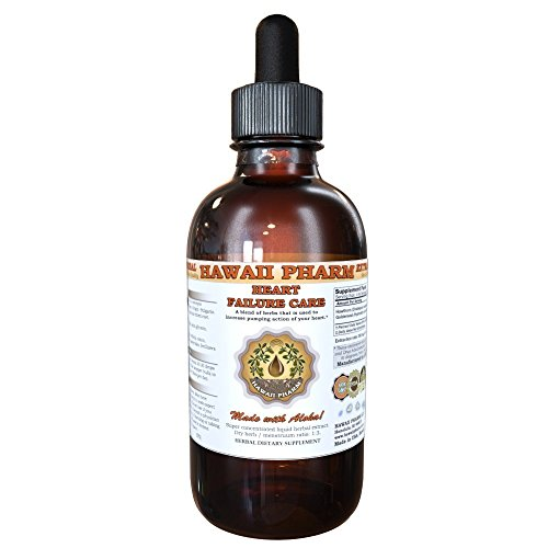 Heart Failure Care Liquid Extract, Hawthorn (Crataegus Laevigata) Leaf and Flower, Goldenseal (Hydrastis Canadensis) Root Tincture Supplement