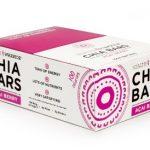 HEALTH WARRIOR Chia Bars, Acai Berry, Gluten Free, 25g bars, 15 Count