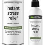 "Premium Aromatherapy Mist – ""INSTANT STRESS RELIEF"" – Melt Your Tensions Away, 100% ALL NATURAL & ORGANIC Room & Body Mist, Essential Oil Blend – Patchouli & Bergamot – 100% GUARANTEED"