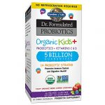 Garden of Life – Dr. Formulated Probiotics Organic Kids+ – Acidophilus and Probiotic Promotes Immune System, Digestive Health – Gluten, Dairy, Soy-Free, No Sugar Added – 30 Chewables