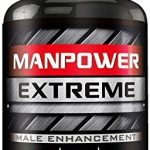 Manpower Extreme – MAX Erection Pills – Ultra-Max Blood-Flow Boost – Increases Men's Hardness, Drive, Libido – Boost Size – Male Enhancement Pills, Enlargement Pills for Men