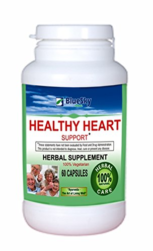 Blue Sky Herbal Healthy Heart Support. Health supplement - 60 caps