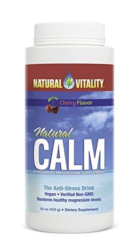 Natural Vitality Calm Cherry, 16 Ounce