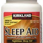 Kirkland Signature Sleep Aid Doxylamine Succinate 25 Mg X 96 Tabs