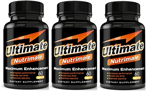 Ultimate Nutrimale - 3 Month Supply - The Ultimate Male Enhancement Pills For Size, Stamina, Testosterone, Libido | Boost Sex Drive and Energy | Enlargement Pills, Erection Pills, Sex Pills