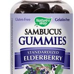 Sambucus Elderberry Gummies Herbal Supplements, 60 Count
