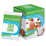 Yes You Can! Diet Plan: Protein Shake Pack Up to 2 Snacks a Day, Helps Lose Weight – Batido de Proteína – Kiwi Berry, 1 Pack (10 Packets)