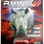 Rhino 50K Male Enhancement Supplement – Time Size Stamina – (5 Pack) (Red)