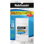 Robitussin Lingering Cold CoughGels Long-Acting 8-Hour Cough Suppressant (20-Count Liqui-Gel Capsules)