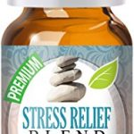 Stress Relief Blend 100% Pure, Best Therapeutic Grade Essential Oil – 10ml – Bergamot, Patchouli, Blood Orange, Ylang Ylang, Grapefruit