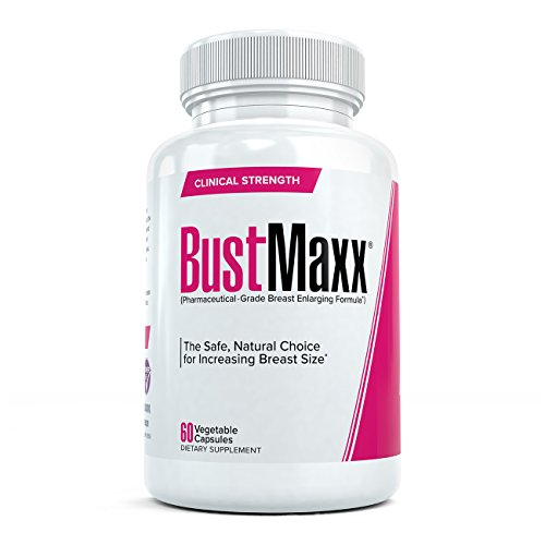 BustMaxx: The World's Top Rated Bust and Breast Enhancement Pills - Natural Breast Enlargement and Female Augmentation Supplement Designed to Increase Breast Growth and Enhance Bust Size, 60 Capsules