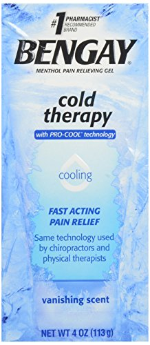 Bengay Cold Therapy Pain Relieving Gel With Pro-Cool Technology, 4 oz.