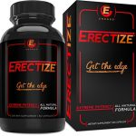 Male Enhancement by Erectize, Extreme Testosterone Booster, Inrcrease Libido, Stamina, Vitality, Test Booster, 60 capsules