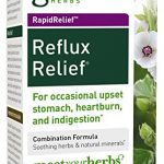 Gaia Herbs Rapidrelief Reflux Relief Tablets, 45 Count Bottle