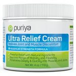 Pain Relief Cream for Arthritis. 4oz. Proven Joint Back Knee Neck Shoulder Pain Reliever. Effective for Carpal Tunnel, Tennis Elbow, Tendonitis, Muscle Chronic Pain. Patented Natural Ingredients