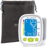 "Wrist Blood Pressure Cuff Monitor by Balance, ""2017 Update"" Ultra Portable High Accuracy Readings, Easy-to-Read LCD, Travel Bag included with Two User Support and 2-Year Warranty"