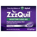 Vicks ZzzQuil Nighttime Sleep Aid, 48 LiquiCaps