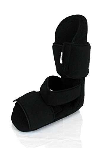 Night Splint 90 Degree Plantar Fasciitis Heel and Foot Pain Night Boot Padded (Medium)