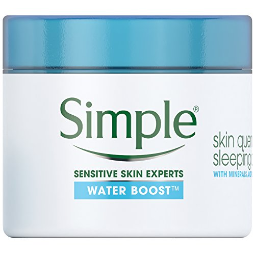 Simple Water Boost Skin Quench, Sleeping Cream, 1.7 oz