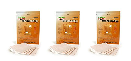 Golden Sunshine - Pain Terminator Far Infrared Patch - 3 Pack