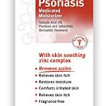 Dermarest Psoriasis Medicated Moisturizer, 4 oz, Salicylic Acid 2%, Soothing zing complex, Fragrance free formula helps remove & prevent scales. Packaging may vary