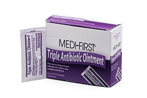 Medique Products 22373 Triple Antibiotic Ointment.5 Gram, 25 Per Box