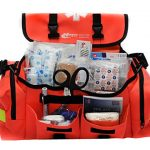 MFASCO – First Aid Kit – Complete Emergency Response Trauma Bag – For Natural Disasters – Orange