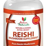 Activa Naturals Reishi Mushroom Supplement – 120 Veg. Capsules with Pure Ganoderma Lucidum Mushrooms Extract Powder to Provide Supplements for Immune System and Heart Health Support