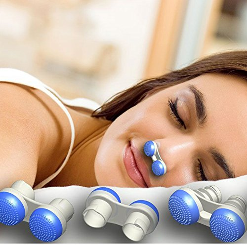 Anti Snoring Devices,Soft Silicone Stop Snoring Solution Nose Vents To Ease Breathing Good Sleep Air Purifier (Upgrade 3 stylers Including 7pcs in a box,New Tongue Anti Snoring)
