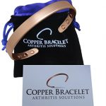 Copper Bracelet for Arthritis – GUARANTEED 99.9% PURE Copper Magnetic Bracelet For Men & Women With 6 Powerful Magnets For Effective & Natural Relief Of Joint Pain, Arthritis, RSI, & Carpal Tunnel!