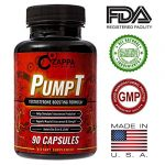 Testosterone Booster – Testosterone Boosting Formula for Men, Sexual Health, Muscle Strength Enhancement, Weight Loss, Test Boost, Sexual Supplements, Pills, Tablets, Testo – By Zappa Nutrition PumpT