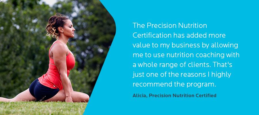 Precision Nutrition Certification