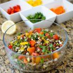 Rainbow Lentil Salad