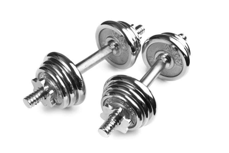 chromed-fitness-dumbbells