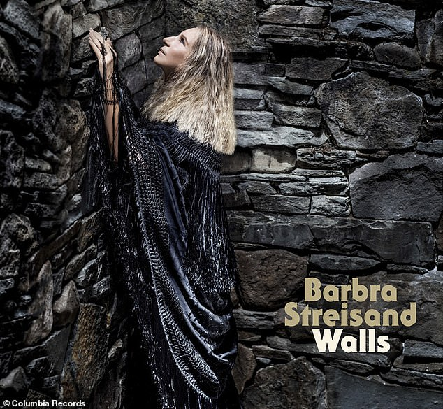 Streisand describes the album she released today, Walls, as 'anti-Trump.' Eating and singing have both been outlets for the musical icon's political stresse