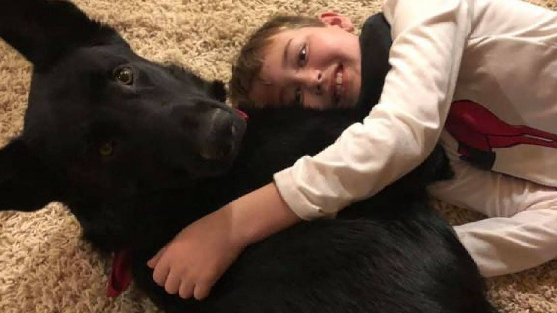 An 8-year-old North Carolina boy, who is receiving cancer treatment in Utah, was reunited with his beloved dog thanks to the kindness of a complete stranger.
