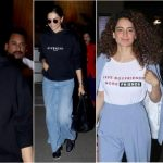 Deepika Padukone in Givenchy Hoodie to Kangana Ranaut in Graphic T-Shirts: Nine Ways to Give Your Airport Look a Fashionable Twist