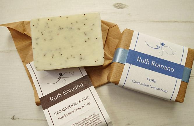 ruth romano natural soap bars