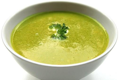 spinach chicken soup