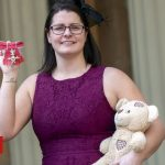 Sepsis campaigner takes son's ashes to Buckingham Palace