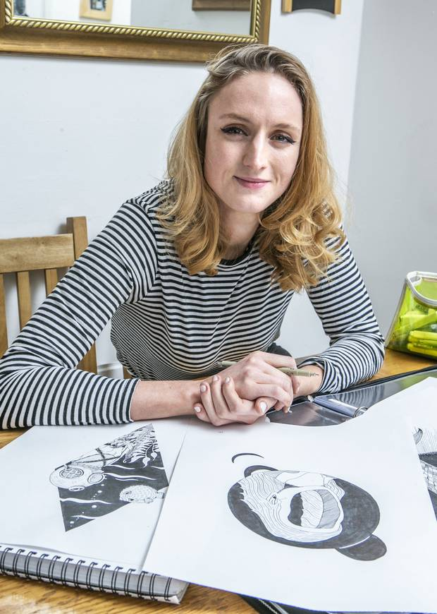 Picture of health: Orna Cunningham says art boosted her confidence and gave her a purpose when she was depressed