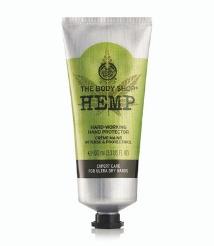 best hand cream the body shop hemp