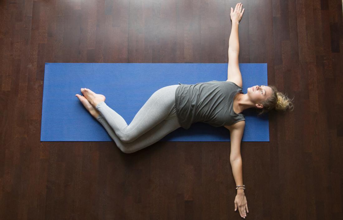 Side-lying thoracic rotation