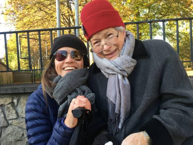 Denise Deegan and her mum