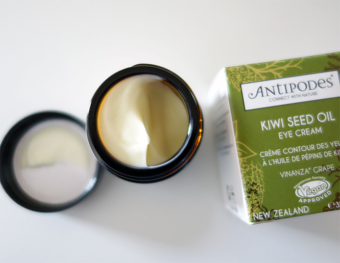antipodes eye cream - jar open