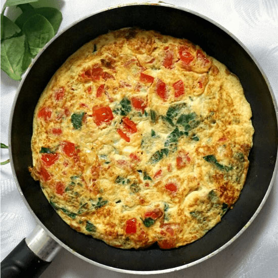 high protein omelette