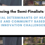 Announcing the Robert Wood Johnson Foundation SDoH & Home and Community Based Care & Innovation Challenges Semi-Finalists!