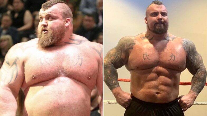 'World's Strongest Man' Eddie Hall Loses 38 Kgs! Check Out His Diet, Fitness and Workout Plan