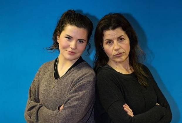 Denise Deegan and her daughter Aimee at Krav Maga Ireland. Photo: Mark Condren