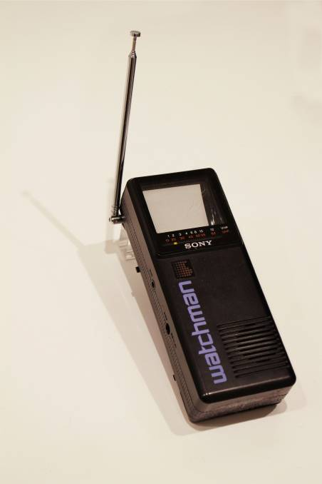Ahead of its time: In 1982, the Sony Watchman was released as a portable TV on the back of the success of the Sony Walkman.